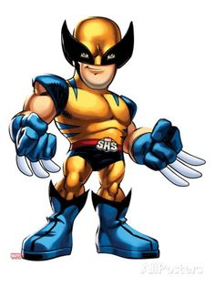 Superhero Squad - Wolverine