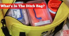Putting together a ditch bag takes some time and a lot of thought. Here's what's in ours for coastal cruising.