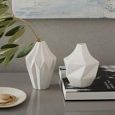 Origami Bud Vases #westelm