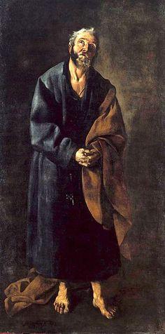 Francisco de Zurbarán - São Pedro - Saint Peter, 1633, Lisbon, Museu Nacional de Arte Antiga