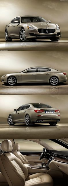 2013 Maserati Quattroporte - A girl can dream, right?