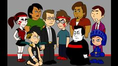 The Troublemakers breaks Tom's leg/Gets Grounded Toms, Family Guy, Fictional Characters, Fantasy Characters, Griffins