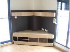Resultado de imagen para muebles esquineros de madera para tv