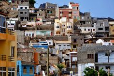 Mindelo, Sao Vincente island, Cape Verde.   The homeland of my father.