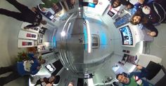 Xmas jumper day for Save The Children. Spherical Image | RICOH THETA