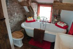 Slipper bath for those aching limbs after enjoying the mountains £65