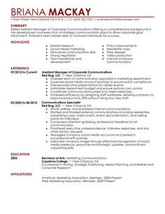 Social Work   4-Resume Examples   Resume examples, Sample resume, Resume