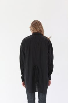 Beklina Kowtow Smith Shirt Black