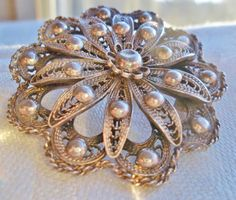 Hey, I found this really awesome Etsy listing at https://www.etsy.com/listing/197674012/antique-edwardian-800-silver-flower