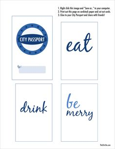 City Passport Printa