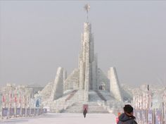 Ice Palaces China Ice-palace-2 Harbin Ice