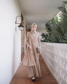 Dress Brokat Muslim, Dress Brokat Modern, Kebaya Modern Dress, Kebaya Dress, Dress Pesta, Muslim Dress, Kebaya Hijab, Kebaya Muslim, Model Kebaya Brokat Modern
