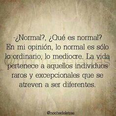 Atreverse a ser diferente