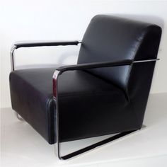 Design an amazing room with style! Design your own style! Designer range of comfortable quality armchairs in stock now. Commercial Furniture, Armchairs, Design Your Own, Chrome, Arms, Black Leather, Profile, Deep, Number