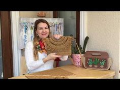 Crochet Bag Tutorials, Crochet Videos, Cute Jokes, Crochet Handbags, Crochet Bags, Crochet Teddy, Sisal, Little Birds, Handmade Bags