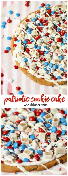 Patriotic Cookie Cak