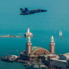 Blue Angel, Chicago Air and Water Show 2012