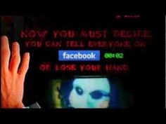 """Moviemax Saw 3D """"Let's play"""" Facebook Trap Digital Campaign 2010"""