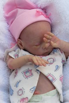 Reborn Preemie Baby Sparrow...Bonnie Brown's Mumma's Lil' Monkey Sculpt!