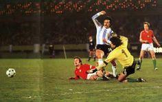 Argentina 2 Hungría 1 (Copa del Mundo Argentina 1978,Estadio Monumental,Buenos Aires,02/06/1978)