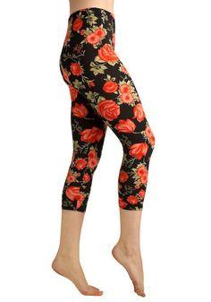 Floral Leggings! Yes Please!