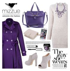 """Purple wonder"" by helenevlacho ❤ liked on Polyvore featuring Kenzo, City Chic, Carla G., Ted Baker, Bobbi Brown Cosmetics and mizzue"