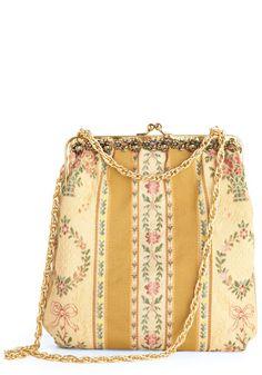 Vintage Haute of Print Shoulder Bag, #ModCloth