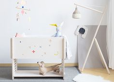 KUKO is a convertible wooden furniture which reacts on the specific needs of your children as they are growing up.