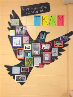 High school classroom decoration for teaching to kill a mockingbird!