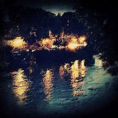 "@ilaria_agostini's photo: ""Tevere river by night impressions"""