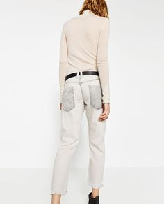 RELAXED FIT LOW-RISE JEANS from Zara