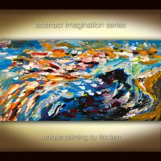 Abstract View  Contemporary Huge Surreal Decorative by elsestudio, $288.00