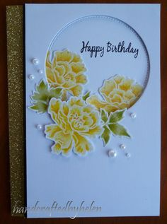 Handcrafted by Helen: Altenew Lacy Scroll cards
