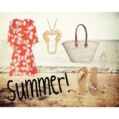 Summer, created by jcurley651 on Polyvore