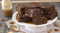 Tradycyjny murzynek - banalny przepis na przepyszne ciasto Sweets Recipes, Brownie Recipes, No Bake Desserts, Delicious Desserts, Nutella Recipes, Decadent Chocolate, Chocolate Desserts, Flourless Desserts, Mole