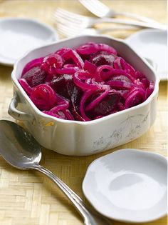 These Quick and Easy Pickled Beets and Onions Pickled Beets and Onions - © Lebhard-Friedman Books, used with permission.Pickled Beets and Onions - © Lebhard-Friedman Books, used with permission. Beet Recipes, Onion Recipes, Canning Recipes, Vegetable Recipes, Smoothie Recipes, Recipies, Lunch Recipes, Pickled Beets And Onions Recipe, Canned Red Beets Recipe