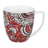 Enhance the visual appeal of your table with distinctive, beautiful dinnerware from Waechtersbach. These Urbana Mint Mugs feature a playful paisley pattern for a trendy, one-of-a-kind look.