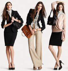 Basics for building an inexpensive work wardrobe.
