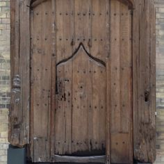 Door and Frame c.1500-30. Originally from a fine timber-framed house in Ipswich