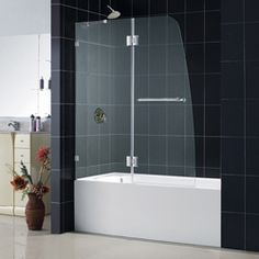 @Overstock - The DreamLine exclusive Aqua Lux door collection offers unique European designs combined with flexible installation options. The Aqua Lux tub door features an impressive 5/16-inch glass and self-closing solid brass hinges.http://www.overstock.com/Home-Garden/DreamLine-Aqua-Lux-48x58-Clear-Glass-and-Chrome-Bathtub-Door/5612121/product.html?CID=214117 Add to cart to see special price