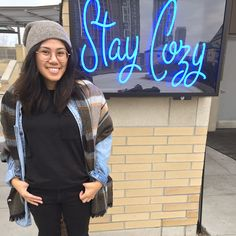 Stay cozy, especially in winter! wears The Pocket Classic Crew Tee, IRL. Penny Black, How To Dye Fabric, Vintage Tees, Feeling Great, Body Types, Black Stripes, Girlfriends, Compliments, Cozy