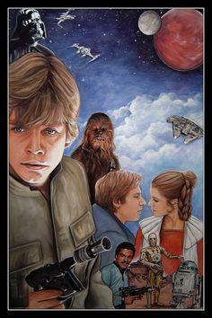 Star Wars - Original Trilogy by W. Dee Brewer *