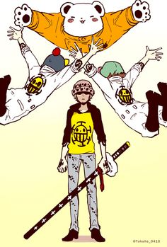 "Trafalgar Law : ""What have I ever done to diserve all of this crap?"""
