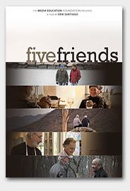 """If you've got five friends when you die,"" American philosopher Elbert Hubbard was fond of saying, ""then you've had a great life."" Five Friends tell the story of one man who decided to live that life. The film chronicles Hank Mandel's relationships with his five closest friends, providing a deeply personal look at how they navigate success, conflict, marriage, divorce, fatherhood, death, and revealing what men are capable of when they dare to break out of ""bro culture"" and open up. (MEF)"