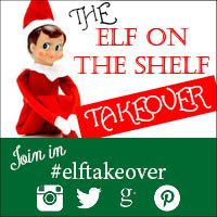 #ElfTakeover - new blog hop I love reading Karen's Let Kids Be Kids blog, and it was while I was there last week that I read all about the Elf on the Shelf tradition. Now, I must admit, this one had passed me by somewhere. I'd spotted the odd tweet, the odd reference to it, but not really explored it or looked into it. Karen