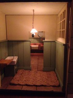 Kitchen through the scullery.