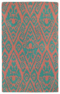 Rosenberry Rooms has everything imaginable for your child's room! Share the news and get $20 Off  your purchase! (*Minimum purchase required.) Evolution Ikat Rug in Watermelon