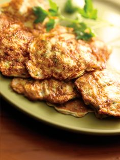 Zucchini Fritters   Lean and Green