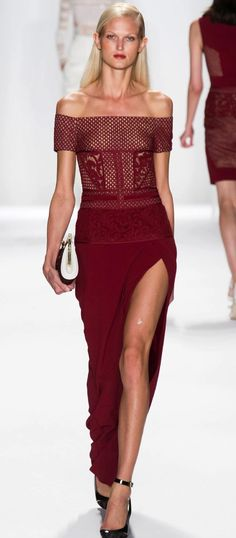 J. MENDEL COLLECTION spring 2014 NYFW