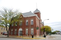 City Hall in Lincoln Illinois  http://route66jp.info Route 66 blog ; http://2441.blog54.fc2.com https://www.facebook.com/groups/529713950495809/